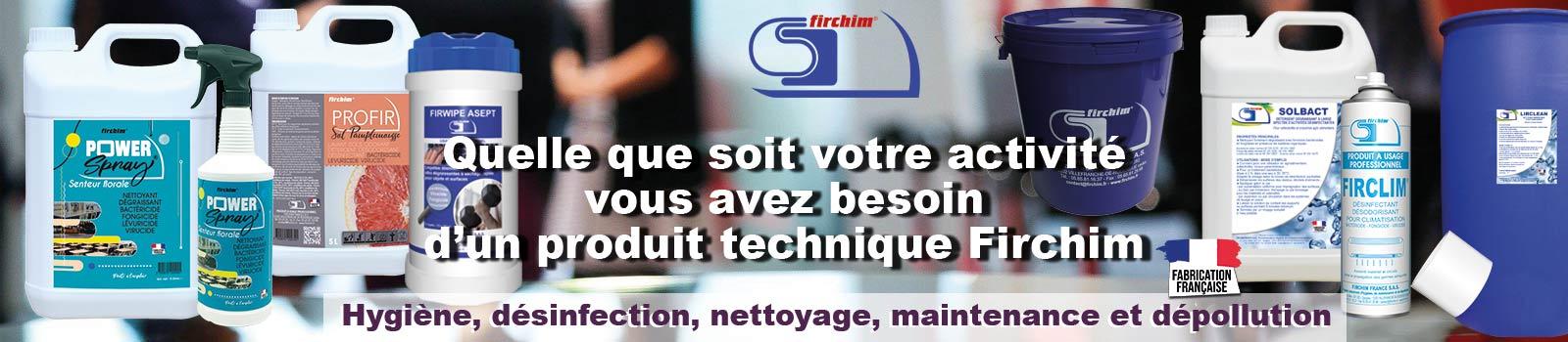 Produits techniques Firchim